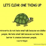 Why Introverts Hate Small Talk