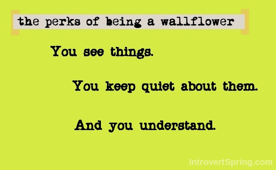 The Perks of Being a Wallflower Quote