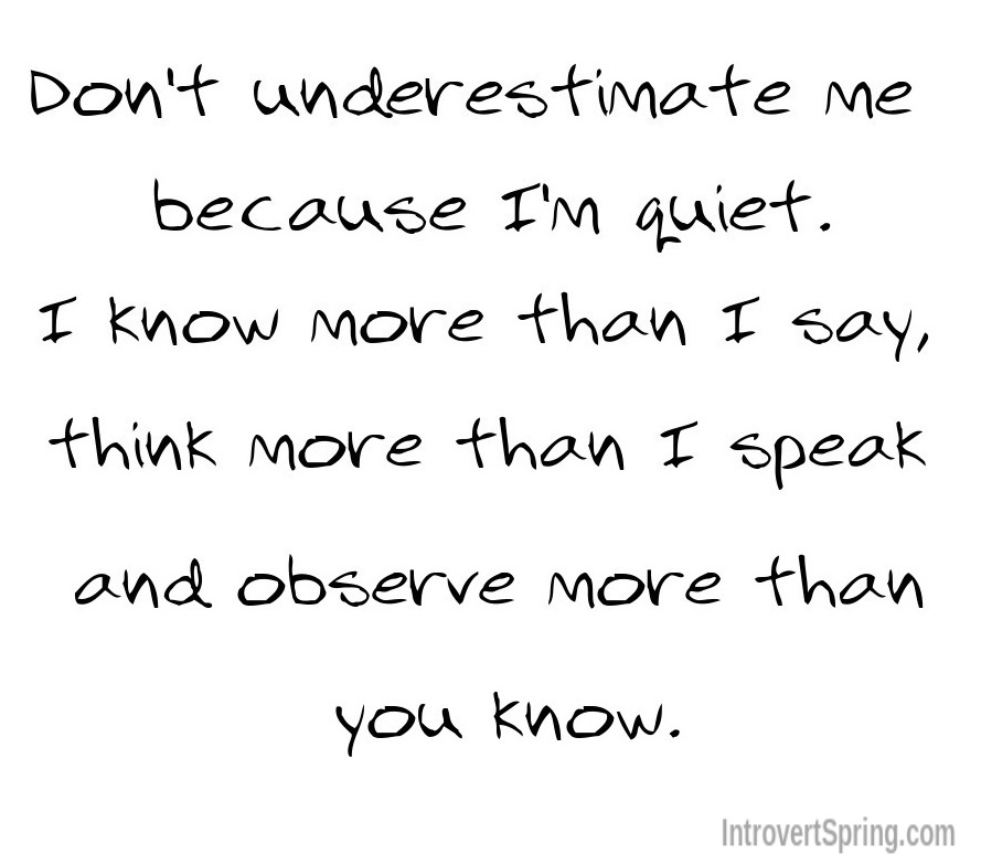 Funny Quotes About Being Shy: What NOT To Say To An Introvert