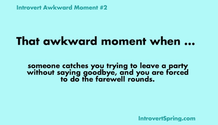 introvert awkward moment 2