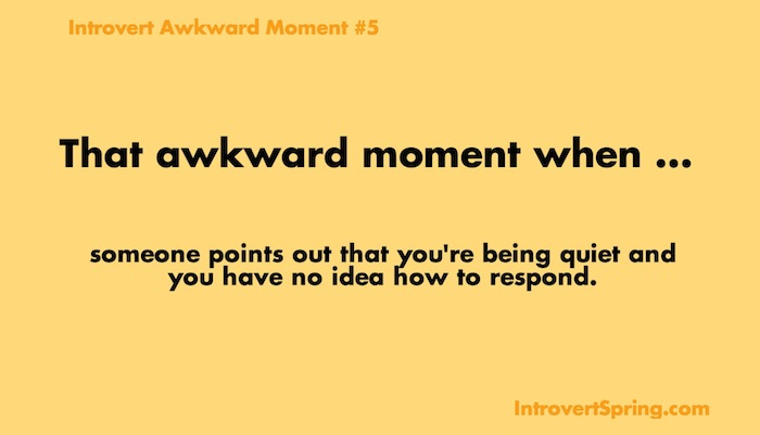 introvert awkward moment 5