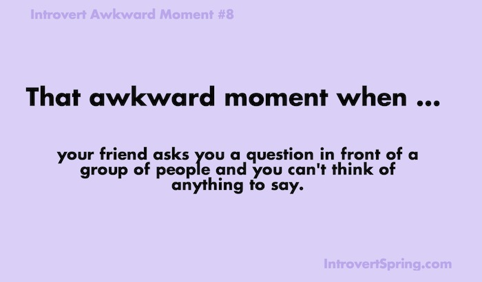 introvert awkward moment 8