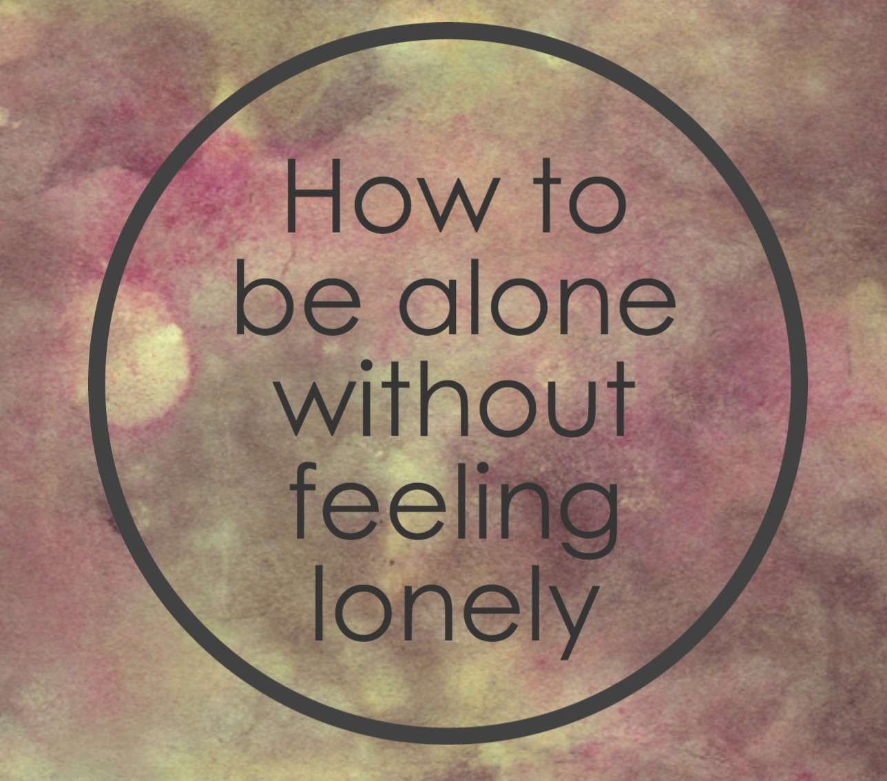 Introverted and lonely