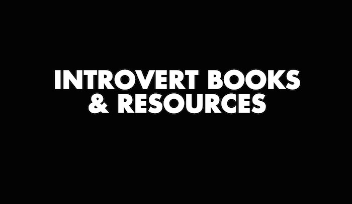 Introvert Books and Resources