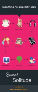 everything an introvert needs infographic
