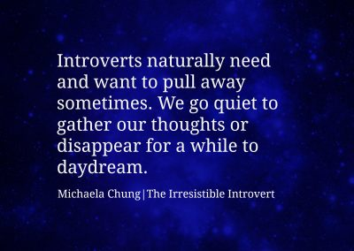 Irresistible Introvert Quote 18