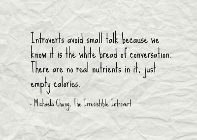 Irresistible Introvert Quote 20