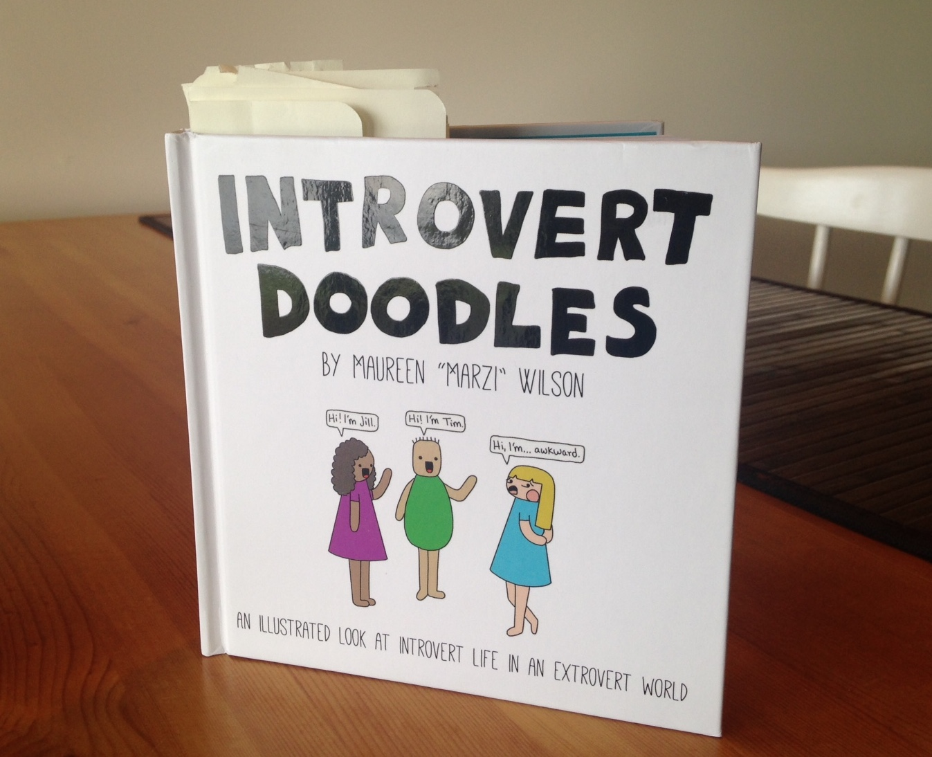 introvert doodles book review