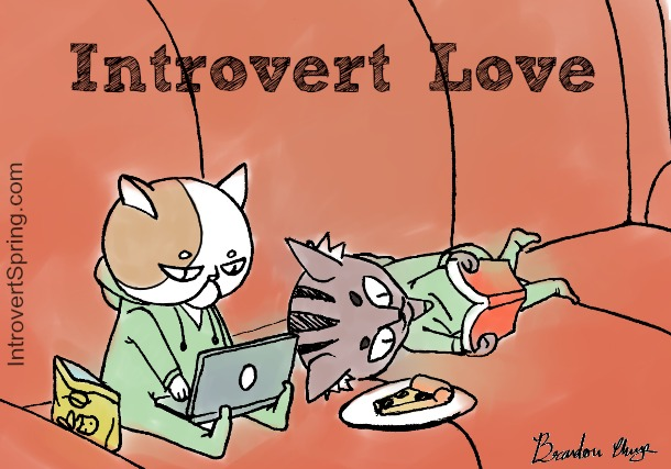 introvert love comic cartoon